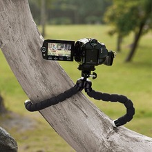 Newest Mini Octopus Tripod Supports For Cell Phone Digital Camera Stand Tripod Mount Phone Holder
