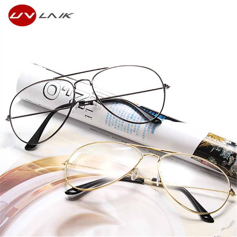 Transparent eyeglass frames
