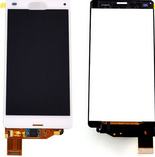 10pcs White z3 mini For Sony Xperia Z3 Compact D5803 D5833 LCD Display+Touch glass Digitizer Assembly Replacement screen<br><br>Aliexpress