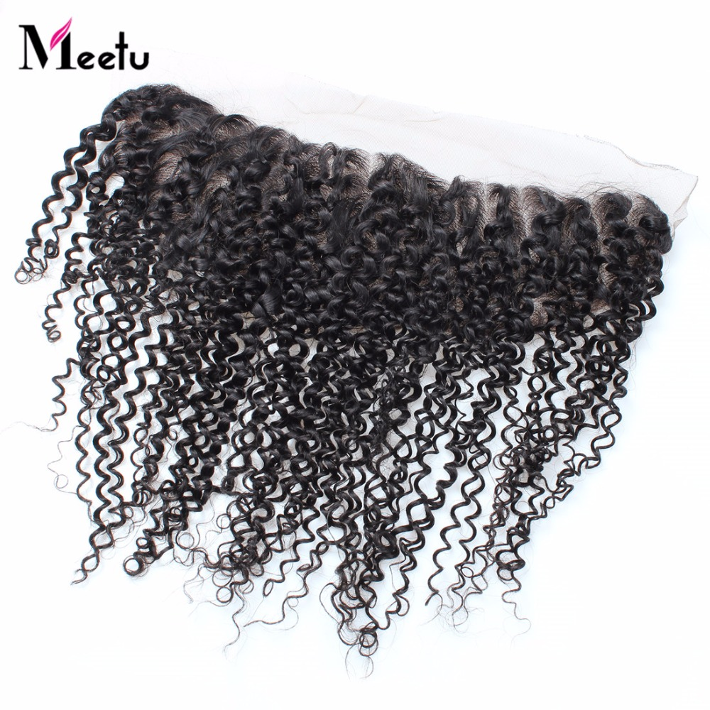 Top Brazilian Curly Hair Lace Frontal Closure 13*4 Brazilian Virgin Hair Curly Frontal Lace Closure Human Hair Frontal Closure<br><br>Aliexpress