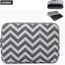 Jacodel Canvas Laptop Sleeve Bag 12 13 14 15 Notebook Bag for Macbook air pro 15.6 Ipad HP Laptop bags Tablet Liner Sleeve Case(China)