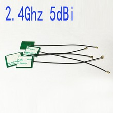 1piece 2.4Ghz antenna 5dbi internal PCB wifi antenna OMNI IPX for IEEE802.11b/g/n WLAN System #2 wifi antena booster