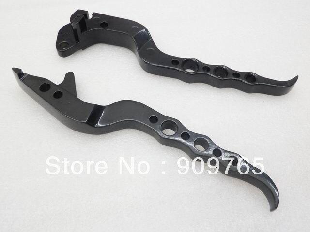Free Shipping New 1 Pair New BLACK BRAKE CLUTCH LEVERS For Suzuki GSXR 600 1997- 2003 750 97- 2003 GSXR 1000 2001 - 2004<br><br>Aliexpress