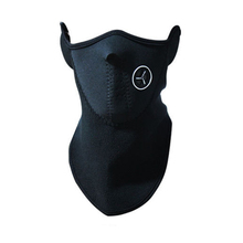 Sports Ski Snowboard Motorcycle Fleece Half Face Mask Winter Hood Windproof Bicycle Cycling Motocross Lower Half Face Mask Black(China)