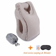 2017 Most Fashion Inflatable Travel Pillow For Airplanes, Car/Train/Office/School Nap Travel Pillow For Sleeping(China)