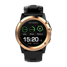 Microwear H1 3G Smartwatch Phone 1.39 inch Android 4.4 Smart Watch MTK6572 4GB GPS Watch Waterproof IP68 2.0MP Camera Pedometer(China)