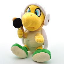 Nintendo Super Mario Plush 8'' 20cm Koopa Hammer Bro Plush Toys Soft Stuffed Animals Toy Doll Figures Toy for Children Xmas Gift(China)