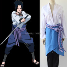 Anime Naruto cosplay Shippuden Sasuke Uchiha 3 generation cos clothes Naruto Cosplay 3rd ver Costume Suit