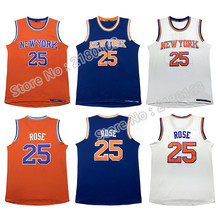 2016 New #25 Derrick Rose basketball Jersey,Rev 30 Derrick Rose #25 Jersey Cheap sales Embroidery Logos Free Shipping