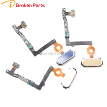 OEM Home Button Module Flex Cable Menu Key Replacement Part for Samsung S6 edge plus G928 Fingerprint Home button flex