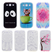 Phone Cases For Samsung Galaxy S3 S III i9300 I9305 I9308 I747 T999 GT-I9300/S3 Duos i9300i Cell Phone silicone Case Cover Bag