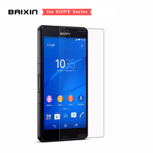 0.3mm 9H Screen Protector For Sony Xperia Z3 Z1 Z5 Compact Tempered Glass For Sony Xperia Z2 Z M2 M4 Protective Film +Clean Kits