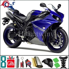 1998 1999 YZFR1 YZF-R1 1998 1999 blue matte black ABS Fairing Fit For yamaha YZF R1 1998 1999(China)