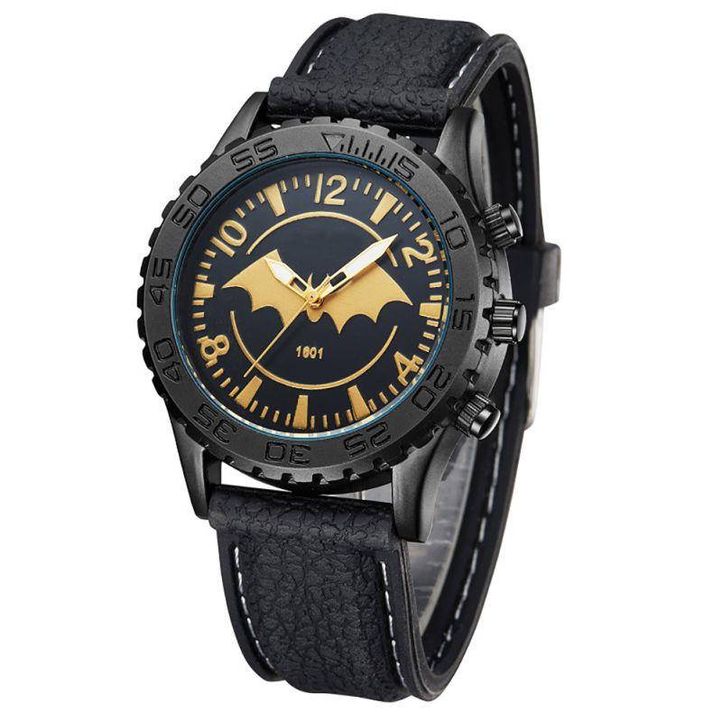 Korean Version Fashion Watch Bat Silicone Waterproof Men Quartz Watch<br><br>Aliexpress