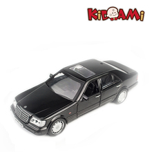 KIDAMI 1:32 Alloy Pull Back Diecast MB Model Toys with Sound Light Collection Gift Toy For Boys Kids