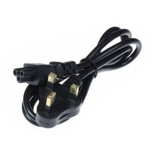 10pcs UK AC Power Cable 3 Prong Plug AC Power Extension Cord 1.2m 4FT 0.5 SQ.MM2 For Notebook Laptop