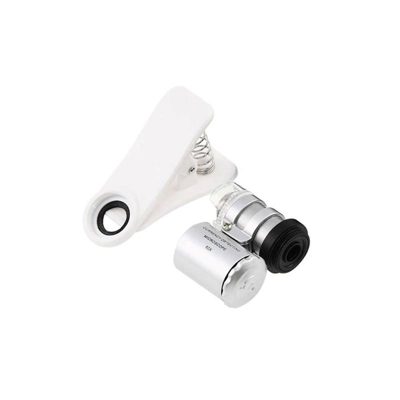 Clip On font b Mobile b font font b Phone b font Microscope Magnifier font b