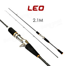 Outdoor Sports Carbon Fishing Rods 1.8m/2.1m Straight Lure Rod Fishing Rod Poles Tackle Accessories Mirror Surface Painting