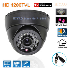 "Free shipping 2015 NEW 1/2.5"" SONY CMOS HD 1200TVL Indoor security camera IR Night Vision CCTV Camera system(China)"