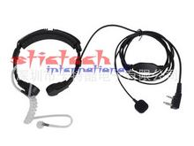 by dhl or ems 200 pieces Mic Earpiece Headset Extendable Throat Microphone for CB Radio Walkie Talkie(China)