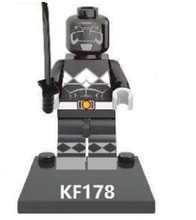 Single Sale Super Heroes Black Power Rocket Weeping Angel Nightmare Batman Building Blocks Bricks Toys for children Gift KF178(China)