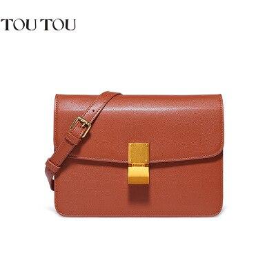 A1622 Simple Vintage Small Women Leather Messenger bag Lady Crossbody Shoulder bag Handbag 3 colors Solid Flap Bag Retro Purse<br>
