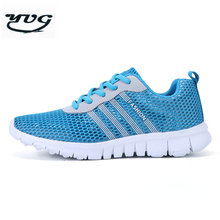 YUG 2017 Newest Running Shoes Men Comfortable Sneakers Women Outdoor Air Mesh Sport Shoes Lover Flat Light a905