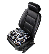 Zebra print before the car seat cushion heavy dust protection in front of the car seat cover gm car