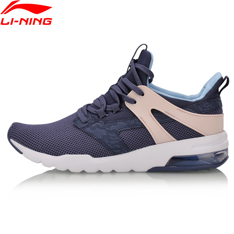 Li-Ning Women BUBBLE UP-FOCUS Classic Shoes TPU Support Cushion LiNing Sports Shoes Wearable Sneakers AGCN006 YXB128
