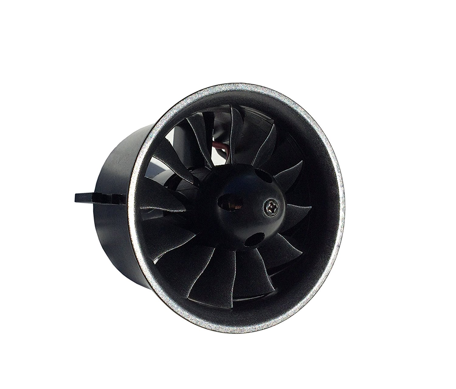 QX-Motor 70mm EDF Ducted Fan Set 12 Blades Electric EDF with 4s Motor QF2827 2600KV Brushless Outrunner Motor for Jet AirPlane<br>