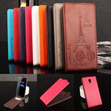 Buy Brand HongBaiwei Embossed Eiffel Tower Wallet Case HOMTOM HT3 HT 3 Vertical Flip Leather Cover Card Slot for $5.88 in AliExpress store