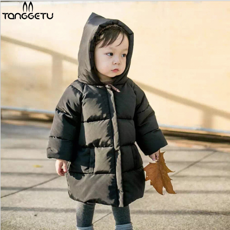 Childrens New Clothes Baby Girls Boys Jackets Autumn Winter Jacket Kids Keeping Warm Cotton Novelty Hooded Thick Outerwear Coat<br>