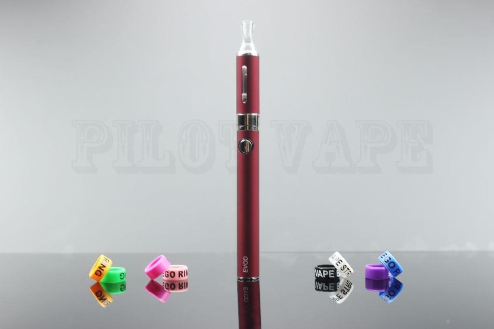Pilot Vape MT3 Starter Kit +2 EVOD Rings Electronic Cigarette Blister Pack Rechargeable Battery MT3 Atomizer Charger E Cig Kits