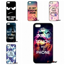 Dont touch my phone Cell Phone Cover Case Shell For Motorola Moto E E2 E3 G G2 G3 G4 PLUS X2 Play Style Blackberry Q10 Z10