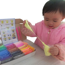 36 Colors Playdough Soft Polymer Modelling Clay With Tools Air Dry Slime Clay Intelligent Plasticine Toys For Kids Toy Gifts