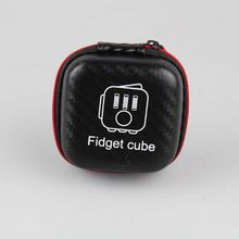Fidget Cube Toys Magic Cube Protection Box Fidget Cube Box ONLY Action figure Doll Toys