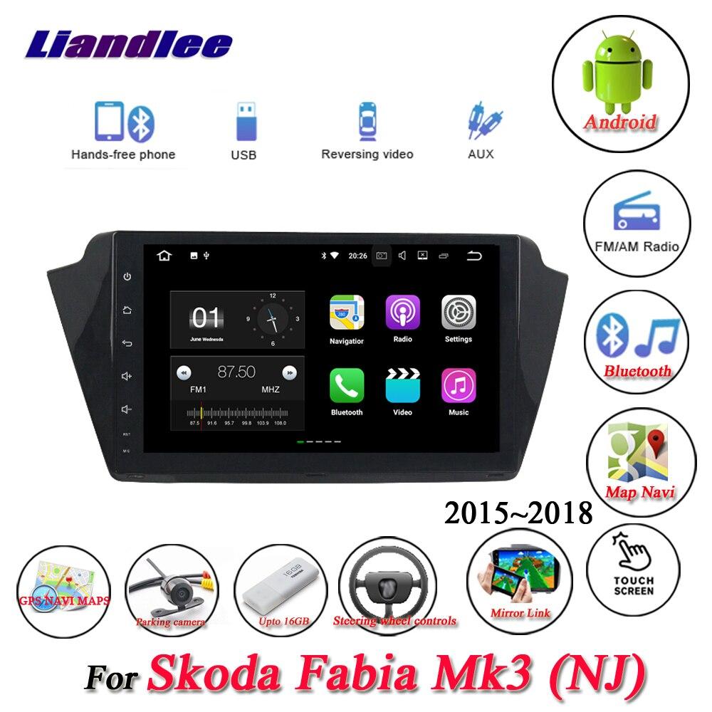 For Skoda Fabia Mk3 2015~2018-1