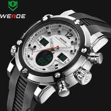 2017 Luxury Brand Top Men Army Military Watch Men's Quartz LED Digital Leather Led Wristwatch Men Sports Watches relojes