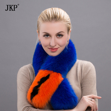 2017 Women's Fashion Genuine Real Leather Fur Scarf Scarve Cape Wraps Free Shipping Good Quality Evening Party HW-01