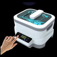 50%OFF fission Machine Dual Touch Screen Sterilizer Dental whitening Tattoo Clean Metal,Gem Ultrasonic Cleaner autoclave Tool(China)