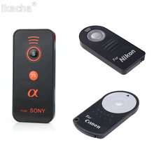 Buy Remote Shutter Release Infrared Wireless Selfie Button Battery DSLR Camera Canon RC-6 Nikon ML-L3 Sony for $1.09 in AliExpress store