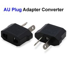 200pcs EU US To AU Plug Adapter America European To Australia Universal AC Travel Power Adapter Converter Outlet