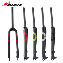 Ullicyc carbon fiber road bike fork/carbon fibre forks/carbon fork road bike forks 28.6 mm 26/27.5 inch free shipping QC525(China)