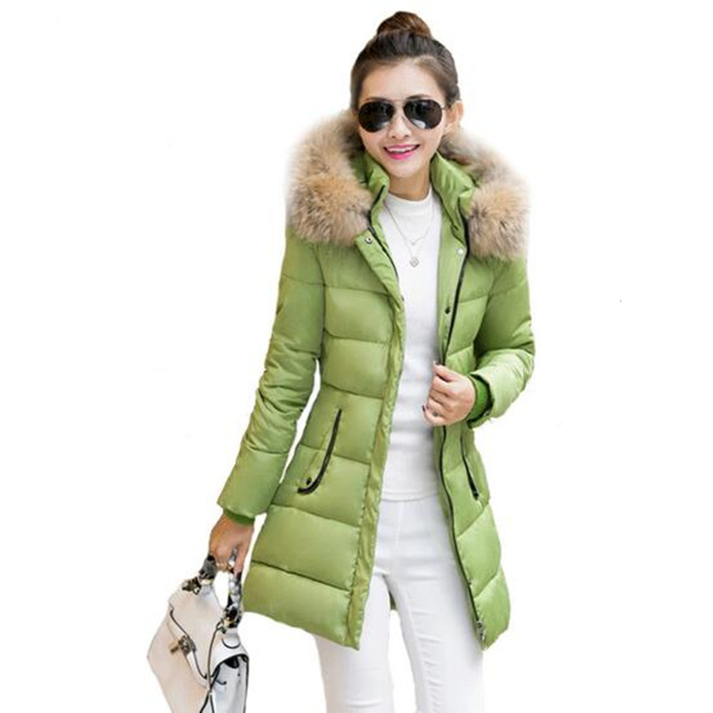 Wadded Cotton Jacket Womens Winter Jackets Coats Military Coats Fur Collar Casacos Ukraine Plus Size Jacket Parkas Mujer FC2271Одежда и ак�е��уары<br><br><br>Aliexpress