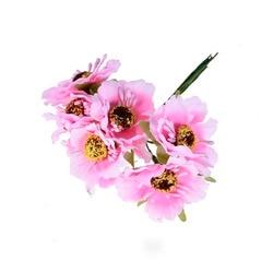 6 шт., декоративные искусственные мини-цветы