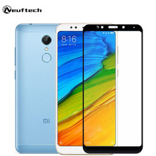 Full Cover Tempered Glass Film Xiaomi A2 6X 5X A1 screen protector redmi 5 5 plus 4X 4A Note4 4X 4 5A protective film