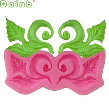 European Fondant Retro Relief Silicone Lace Mold Gumpaste Chocolate Clay Candy Molds Cake Border Decorating Tools