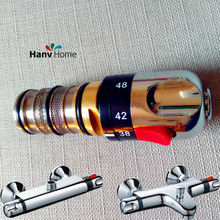 Adjust the Mixing Water Temperature Bath Shower Thermostatic Cartridge & Handle For Mixing Valve Mixer Repair(China)
