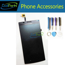 1PC/Lot For MegaFon Login Plus MFLoginPh TOPSUN_G5247_A1 LCD Display And Touch Screen Digitizer with Tools.