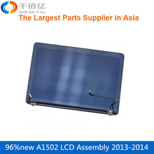 Laptop  Original  A1502 LCD Assembly 2013 2014 Screen display for Macbook Pro Retina 13'